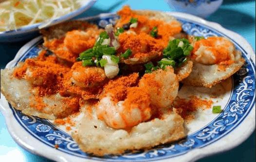 Những chiếc bánh khọt thơm ngon tại Vũng Tàu