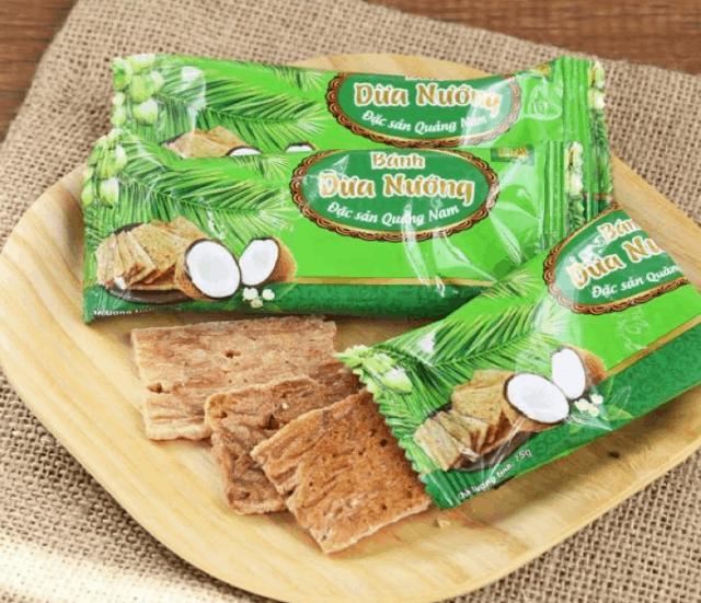 Bánh dừa nướng - đặc sản Đà Nẵng