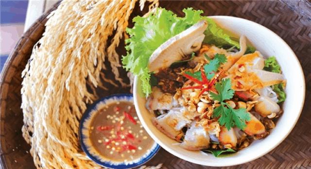 Bún mắm nêm - món ngon Đà Nẵng