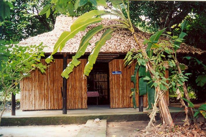 Những nếp nhà vẫn còn lại của khu di tích trung ương(Ảnh: ST)