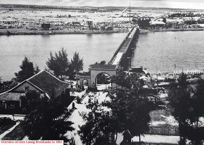 Cầu Hiền Lương những năm tháng chiến tranh - địa điểm du lịch Quảng Trị