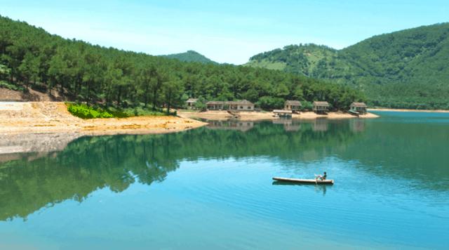 Khu du lịch sinh thái hồ Trại Tiểu - địa điểm du lịch Hà Tĩnh