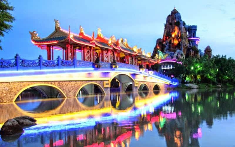 Khu du lịch Long Điền Sơn Tây Ninh (Ảnh: ST)