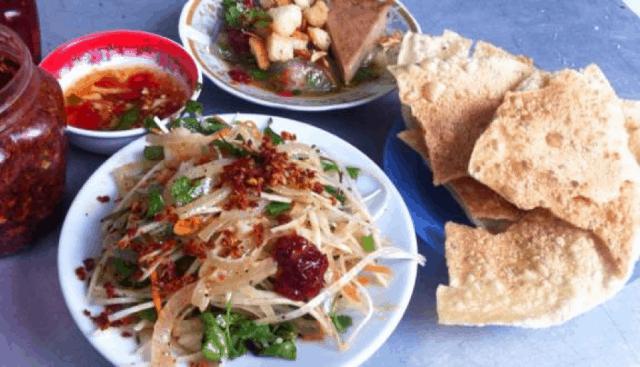 Mít trộn - món ngon Đà Nẵng