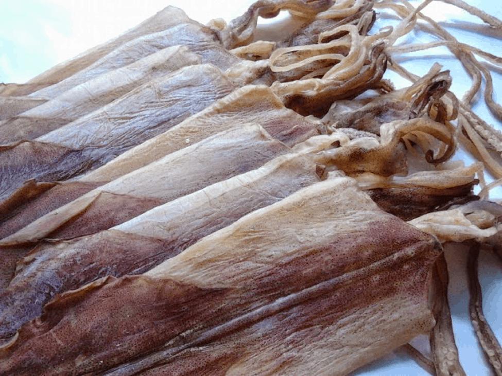 Mực Khô - đặc sản Đà Nẵng