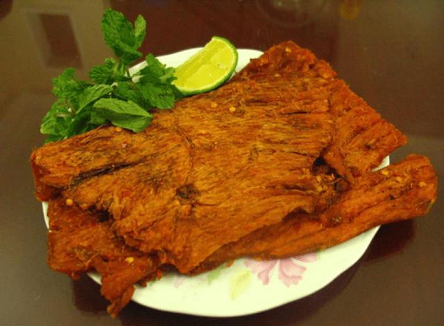 Nai khô - Đặc sản Đà Nẵng