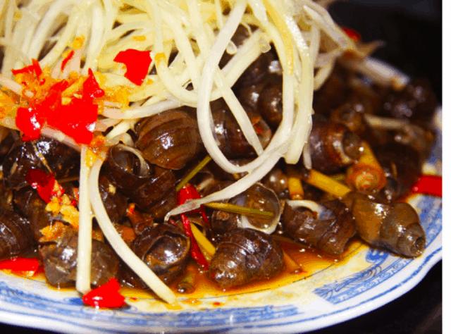 Ốc hút - món ngon Đà Nẵng