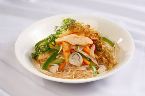Ăn ngon ở Sài Gòn Bún/ miến xào chay