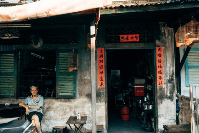 Quán Cà phê vợt Chợ Thiếc Sài Gòn (Ảnh ST)