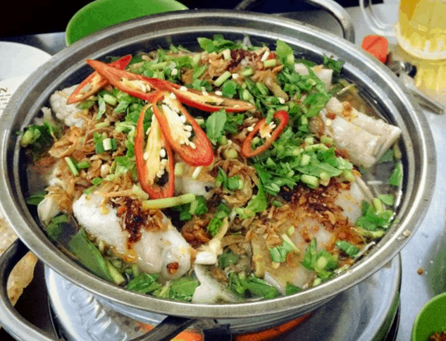 Lẩu cá đuối Trương Công Định