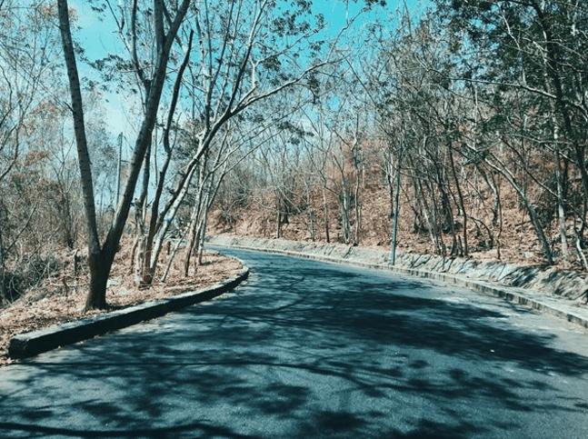 Cung đường đến chỗ chụp hình Hải Đăng