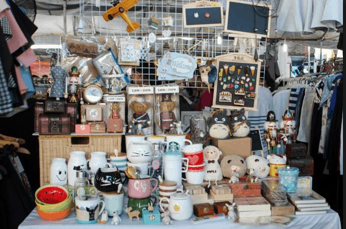 Những gian bán đồ hand-made