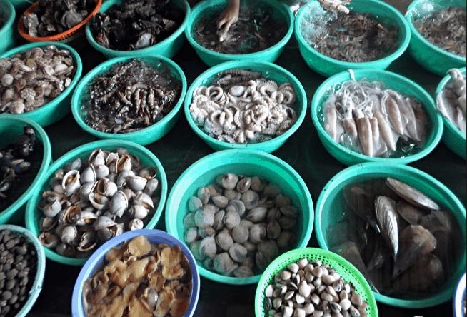 Chợ hải sản Xóm Lưới Vũng Tàu