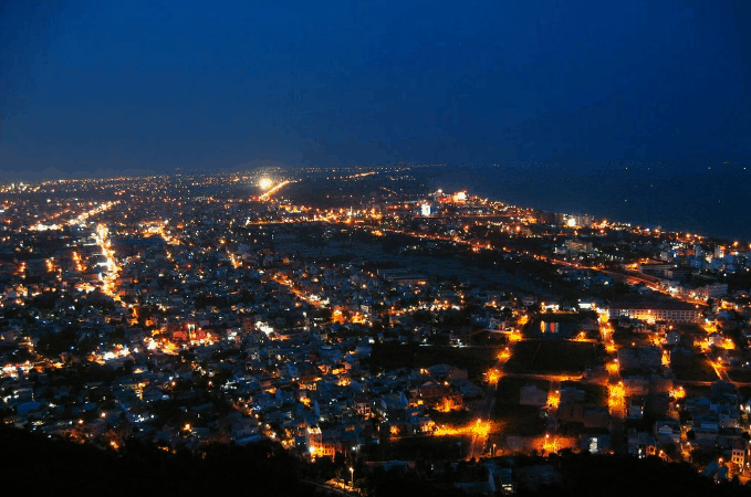 Ngắm toàn cảnh Vũng Tàu về đêm