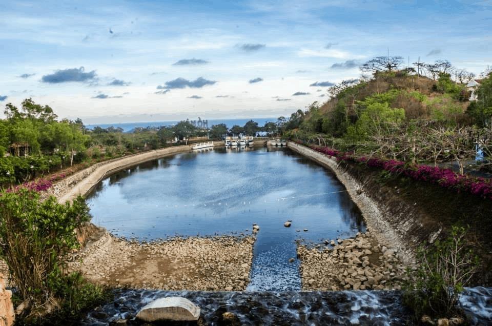 Toàn cảnh khu du lịch Hồ Mây ở Vũng Tàu (Ảnh: Sưu tầm)