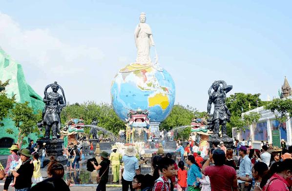 Quảng trường Phật Địa Mẫu