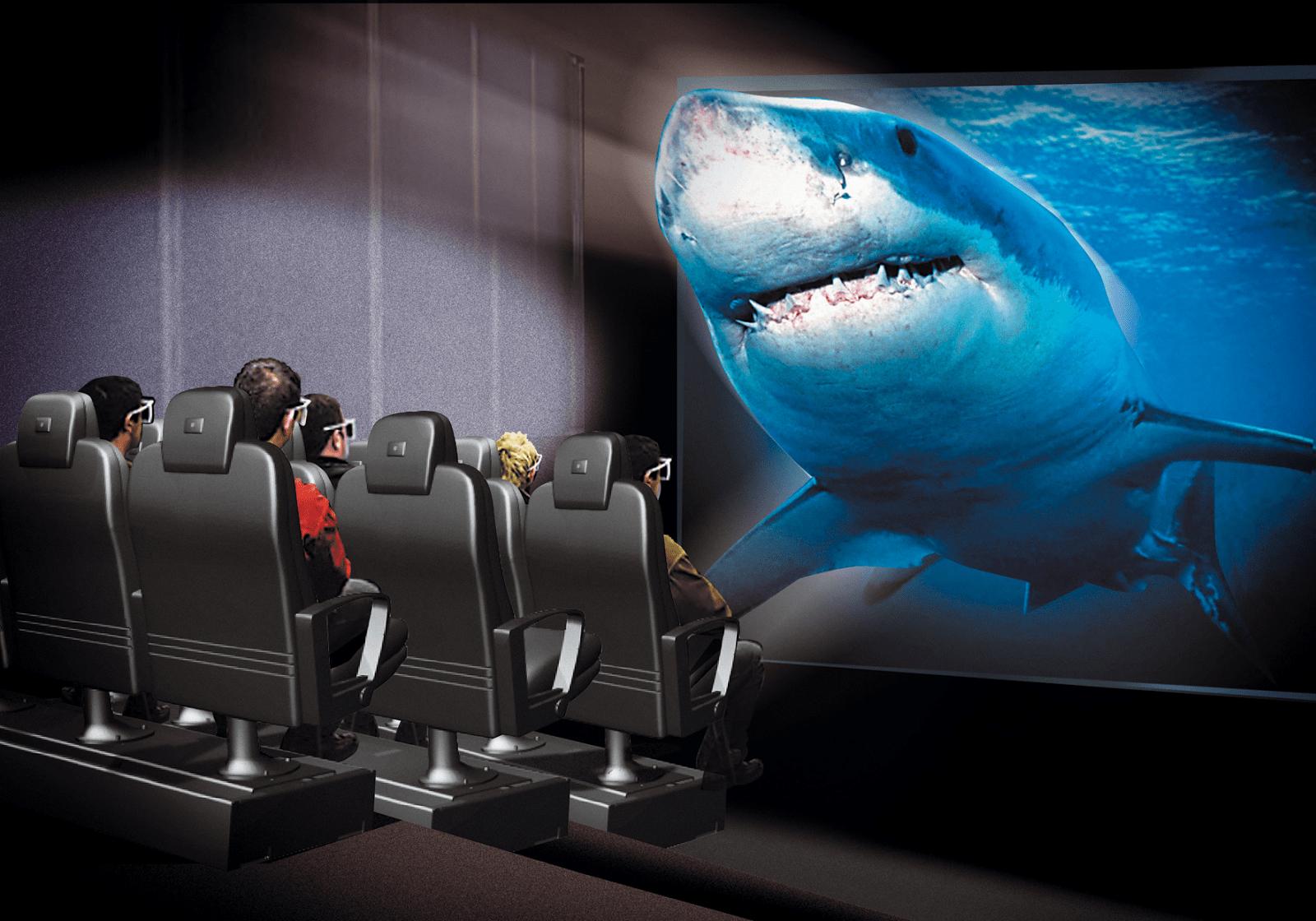 Khu vực xem phim 3D hấp dẫn của khách du lịch (Ảnh: Sưu tập)