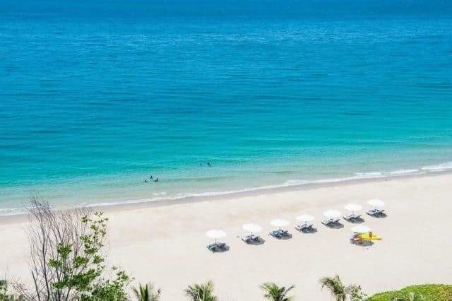 Bãi biển Bãi Dài Nha Trang tuyệt đẹp