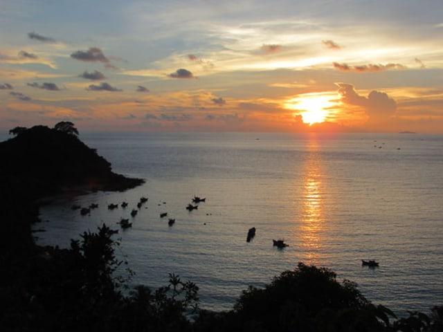 Khám phá đảo Nam Du ngắm nhìn hoàng hôn trên bãi Ngự (Ảnh: Sưu tầm)