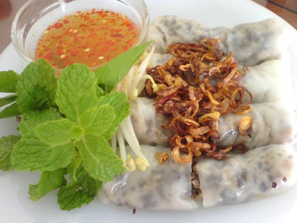 Bánh cuốn Thanh Hóa - đặc sản khi du lịch Sầm Sơn