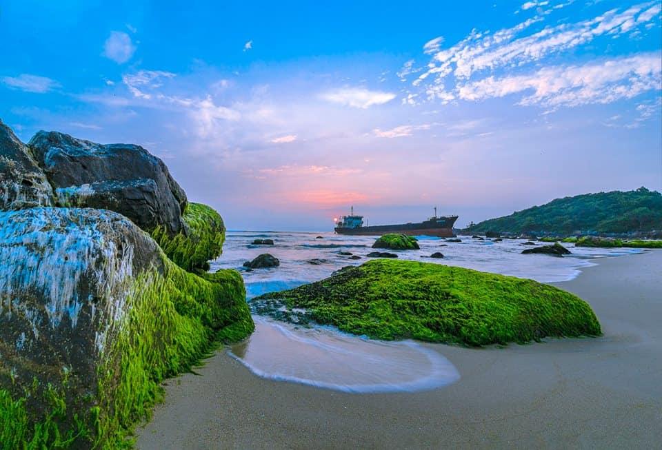 Biển đẹp Đà Nẵng nên ghé qua - biển Nam Ô 01