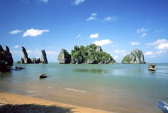 Biển Mũi Nai xinh đẹp (Ảnh: Sưu tầm)