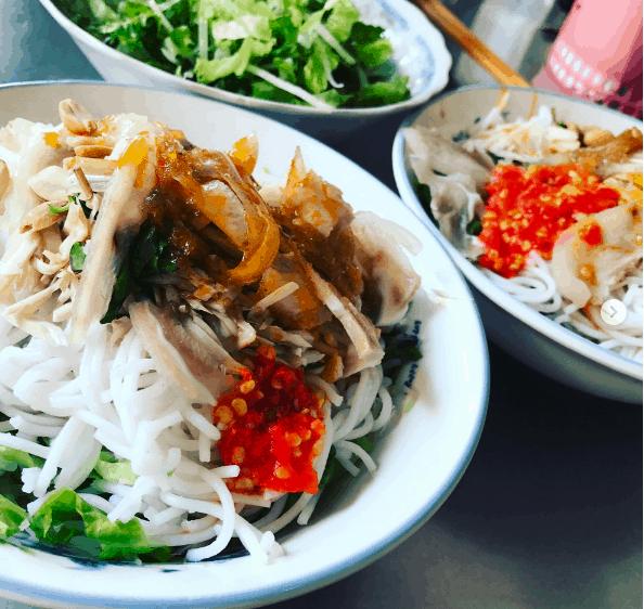 Bún mắm nên Đà Nẵng