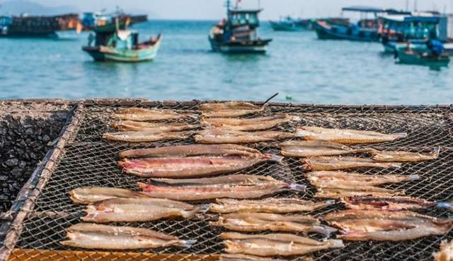 Đặc sản cá khô đậm chất đảo Nam Du (Ảnh: Sưu tầm)