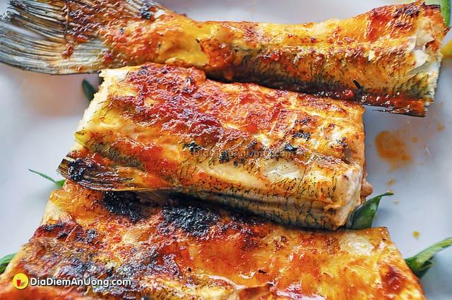 Thịt cá vàng ươm ngon lành đảo Nam Du (Ảnh: Sưu tầm)