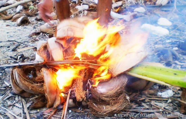 Cá xanh xương thơm lừng trong bếp lửa hồng (Ảnh: Sưu tầm)