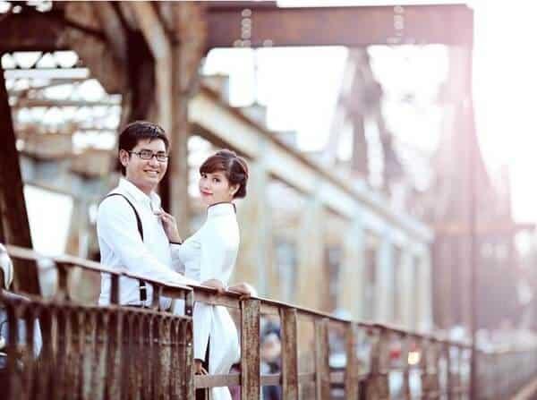 Cầu Long Biên địa điểm hẹn hò lý tưởng