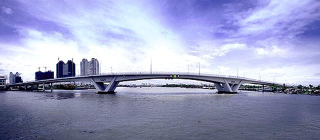 Cây cầu là động lực phát triển mới của Sài Gòn (Ảnh: ST)