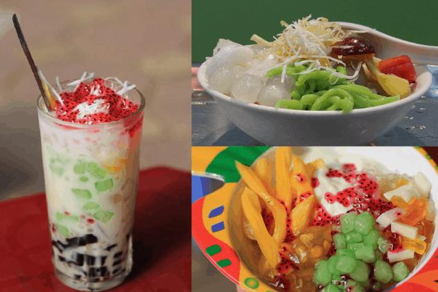 Chè là món ăn vặt được yêu thích ở Sài Gòn
