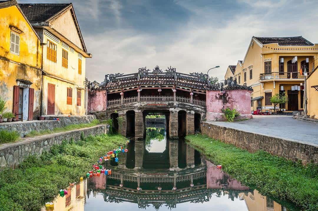 Chùa Cầu mang đậm nét kiến trúc Việt Nam