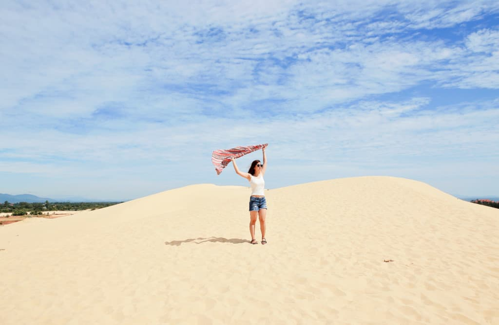 Cồn cát Quang Phú Quảng Bình