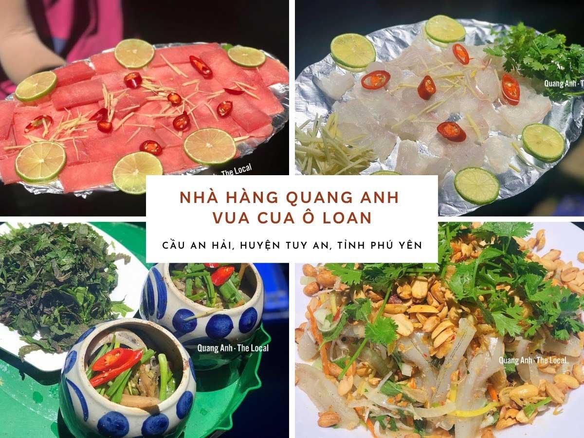 nhà hàng hải sản Quang Anh