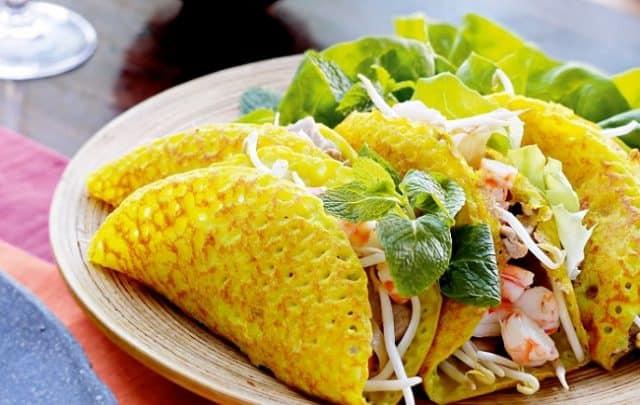 Bánh xèo Long Hải - đồ ăn vặt Vũng Tàu không thể bỏ qua (Ảnh sưu tầm)