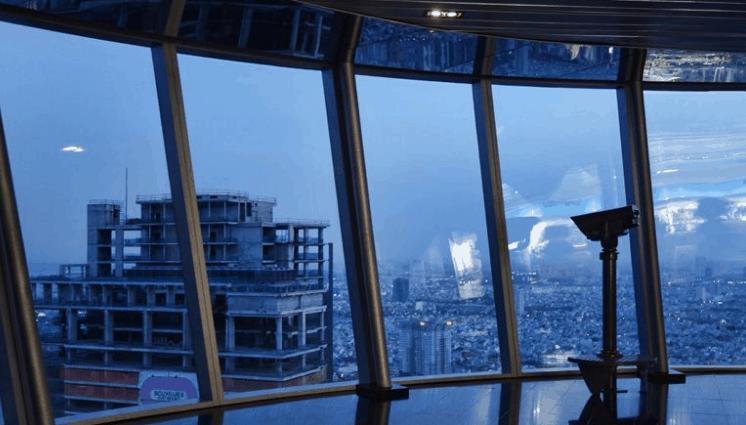Ngắm cảnh toàn Sài Gòn từ đài quan sát tòa nhà Bitexco