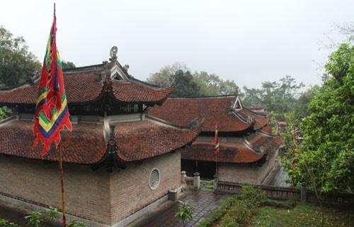 Kiến trúc của đền Bà Triệu