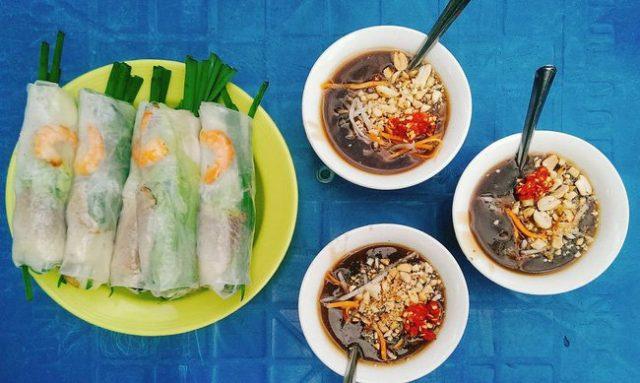 Ẩm thực Gỏi cuốn ở Sài Gòn