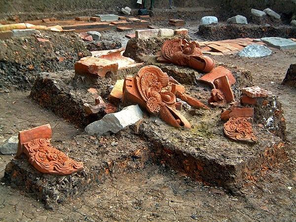 di tích khảo cổ ở 18 Hoàng Diệu