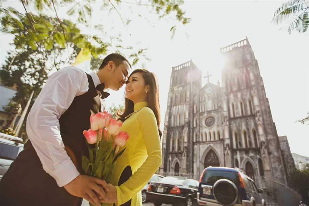 Địa điểm hẹn hò Nhà thờ lớn Hà Nội