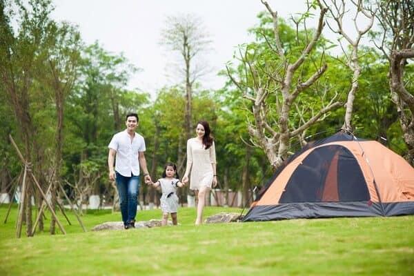 Dịch vụ cắm trại ở Ecopark