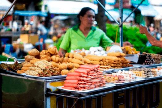Các món ăn vặt ngon ở Sài Gòn (Ảnh ST)