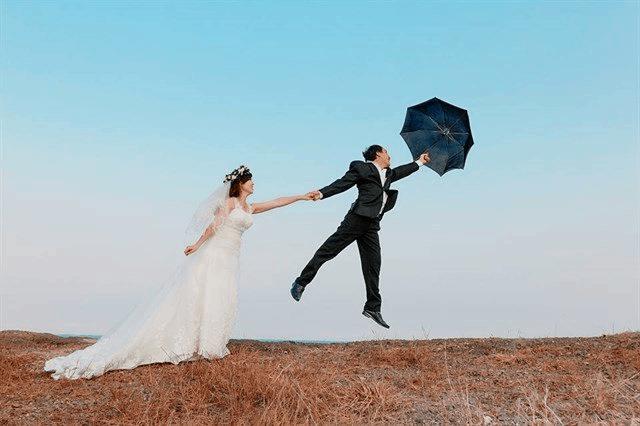 Bức hình cưới ý nghĩa ở đồi Con Heo ở Vũng Tàu