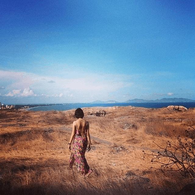 Đồi Con Heo vào mùa khô