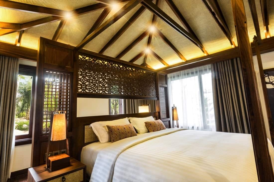 Phòng nghỉ tại Duyên Hà Resort