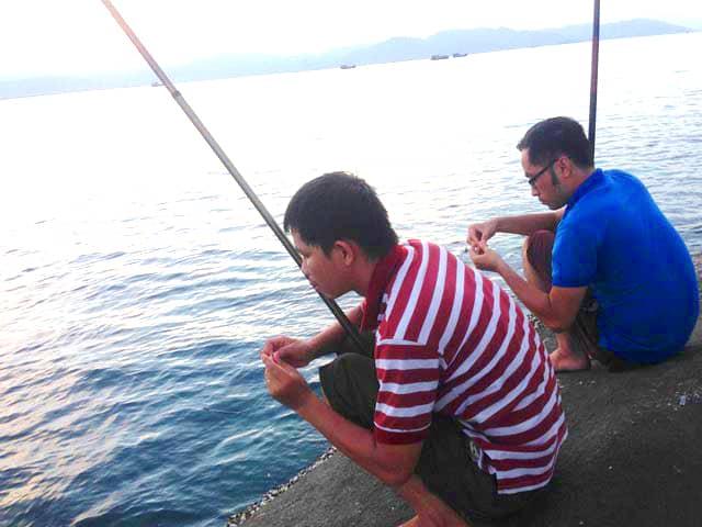 Hồ Trại Tiểu - giải trí bằng hình thức câu cá