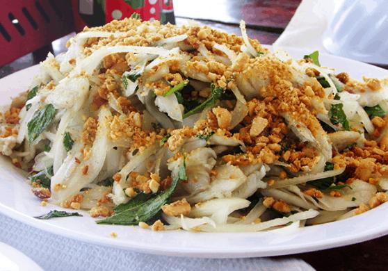 Gói cá là món ăn cực ngon ở Vũng Tàu