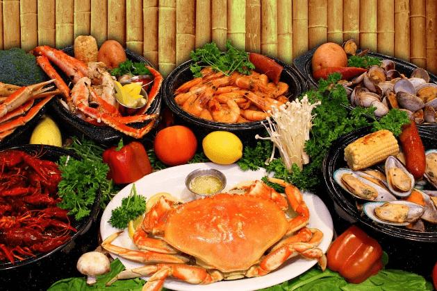 Hải sản là món ăn ngon mà bạn nên lựa chọn khi tới Vũng Tàu